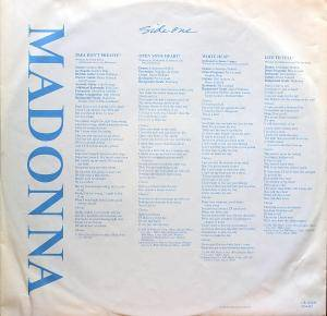 Madonna: True Blue (LP) - Bild 5