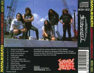 Napalm Death: Harmony Corruption (CD) - Bild 3