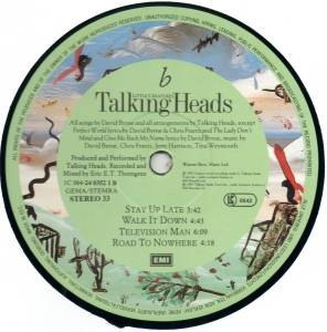 Talking Heads: Little Creatures (LP) - Bild 7