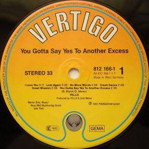 Yello: You Gotta Say Yes To Another Excess (LP) - Bild 3
