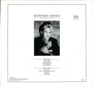 Howard Jones: Human's Lib (LP) - Bild 2