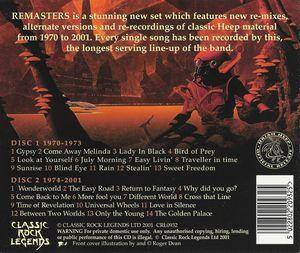 Uriah Heep: Remasters - The Official Anthology (2-CD) - Bild 2