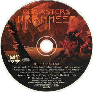 Uriah Heep: Remasters - The Official Anthology (2-CD) - Bild 5