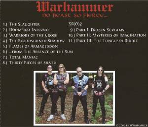 Warhammer: No Beast So Fierce... (CD) - Bild 2