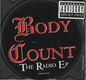 Cover - Body Count: Radio EP, The