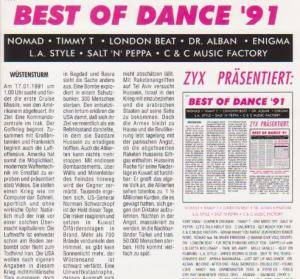 Cover - L.A. Style: Best Of Dance '91
