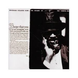Cover - Rahsaan Roland Kirk: Return Of The 5000 Lb. Man, The