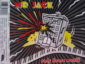 Cover - Mr Jack: Only House Muzik