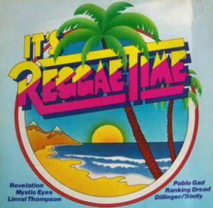 Cover - Jimmy Riley: It's Reggae Time