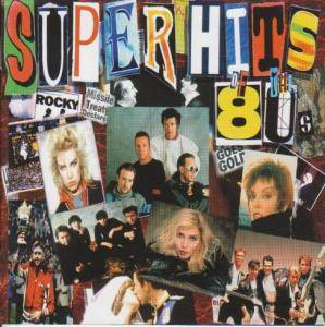 Superhits Of The 80's - Cover