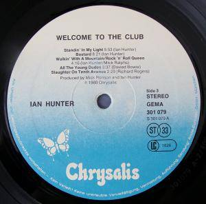 Ian Hunter: Welcome To The Club (2-LP) - Bild 3