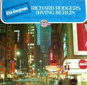 Cover - Richard Rodgers: USA Evergreens - Richard Rodgers & Irving Berlin