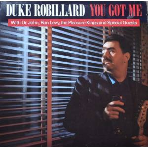 Duke Robillard: You Got Me - Cover