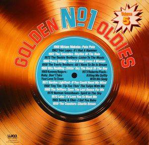 Cover - Cascades, The: Golden No.1 Oldies Volume 5