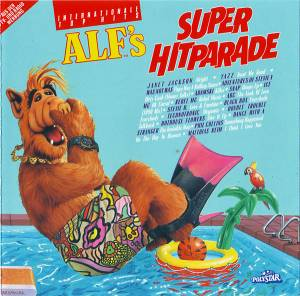 Cover - Dance With A Stranger: Alf's Super Hitparade - 32 Internationale Top Hits