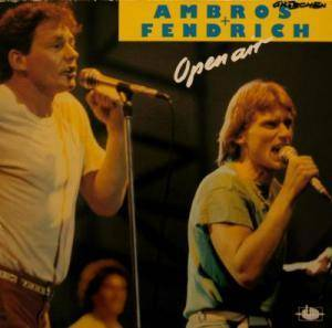 Ambros & Fendrich: Open Air - Cover