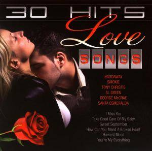 Cover - Haddaway: 30 Hits - Love Songs