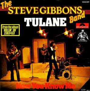 Cover - Steve Gibbons Band: Tulane