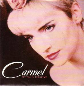 Carmel: It's All In The Game - Cover