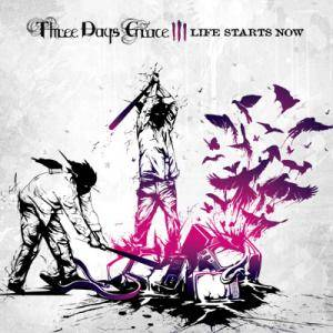 Three Days Grace: Life Starts Now - Cover