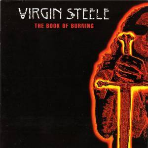 Virgin Steele: Book Of Burning, The - Cover