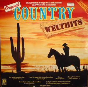 Cover - Johnny Carver: Country Welthits