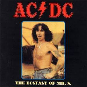 AC/DC: Ecstasy Of Mr. S - Live In Maryland 1980, The - Cover