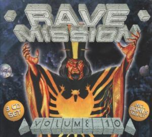 Rave Mission Volume 10 - Cover