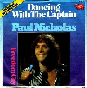 Cover - Paul Nicholas: Dancing With The Captain