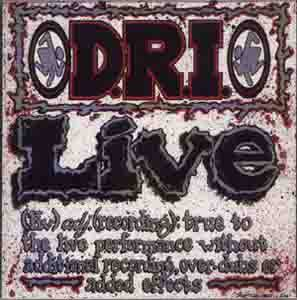 D.R.I.: Live - Cover