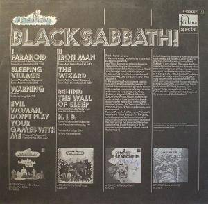 Black Sabbath: Attention! Black Sabbath (LP) - Bild 2