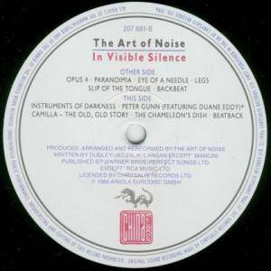 The Art Of Noise: In Visible Silence (LP) - Bild 4