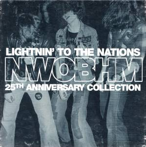 Cover - Chevy: Lightnin' To The Nations NWOBHM 25th Anniversary Collection