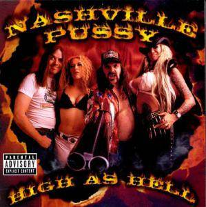 Nashville Pussy: High As Hell - Cover