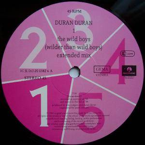"Duran Duran: The Wild Boys (12"") - Bild 2"