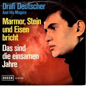 Drafi Deutscher And His Magics: Marmor, Stein Und Eisen Bricht - Cover
