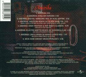 Rammstein: Amerika (Single-CD) - Bild 4