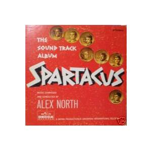 Alex North: Spartacus - Cover
