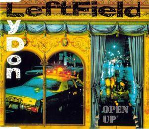 Leftfield-Lydon: Open Up - Cover