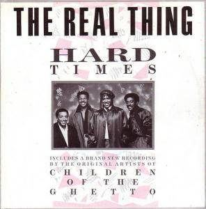 The Real Thing: Hard Times - Cover