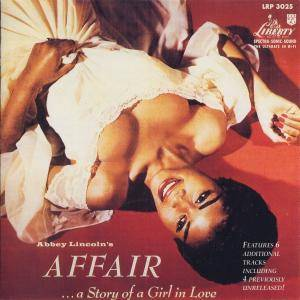 Cover - Abbey Lincoln: Abbey Lincoln's Affair ... A Story Of A Girl In Love