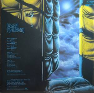 Iron Maiden: Piece Of Mind (LP) - Bild 2