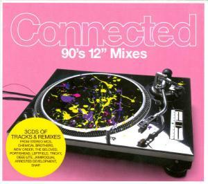 "Connected - 90's 12"" Mixes - Cover"