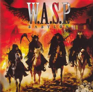 W.A.S.P.: Babylon - Cover
