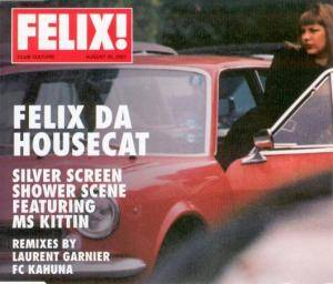 Felix Da Housecat: Silver Screen Shower Scene - Cover