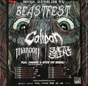 Cover - Maroon: Beastfest / Never Say Die