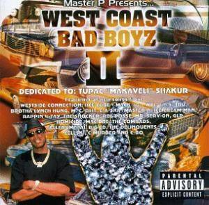 Master P Presents West Coast Bad Boyz II - Cover