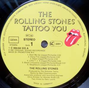 The Rolling Stones: Tattoo You (LP) - Bild 3