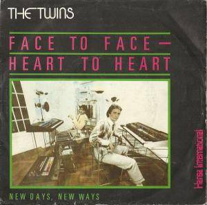 The Twins: Face To Face - Heart To Heart - Cover