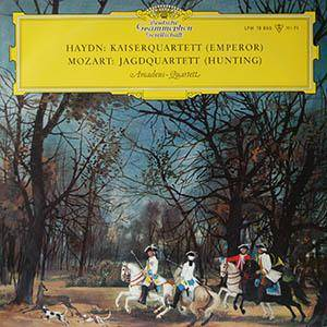 Joseph Haydn , Wolfgang Amadeus Mozart , Mozarteum Quartett - Kaiserquartett / Jagdquarett